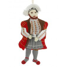 Henry VIII Tudor Christmas Tree Decoration
