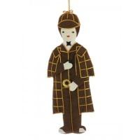 Sherlock Holmes Christmas Decoration