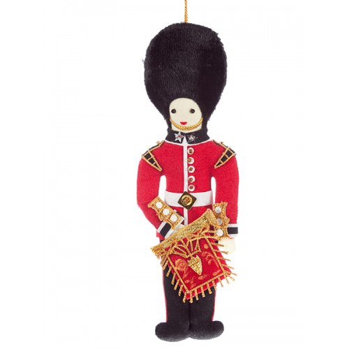 Bandsman with State Trumpet Christmas Ornament