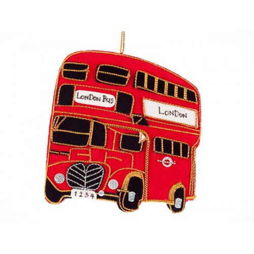 Bus Christmas Ornament