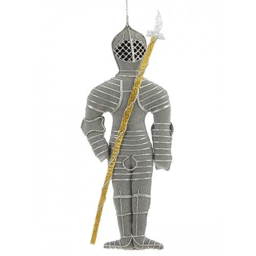 Knight Handmade Christmas Ornament