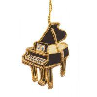 Grand Piano Christmas Tree Decoration