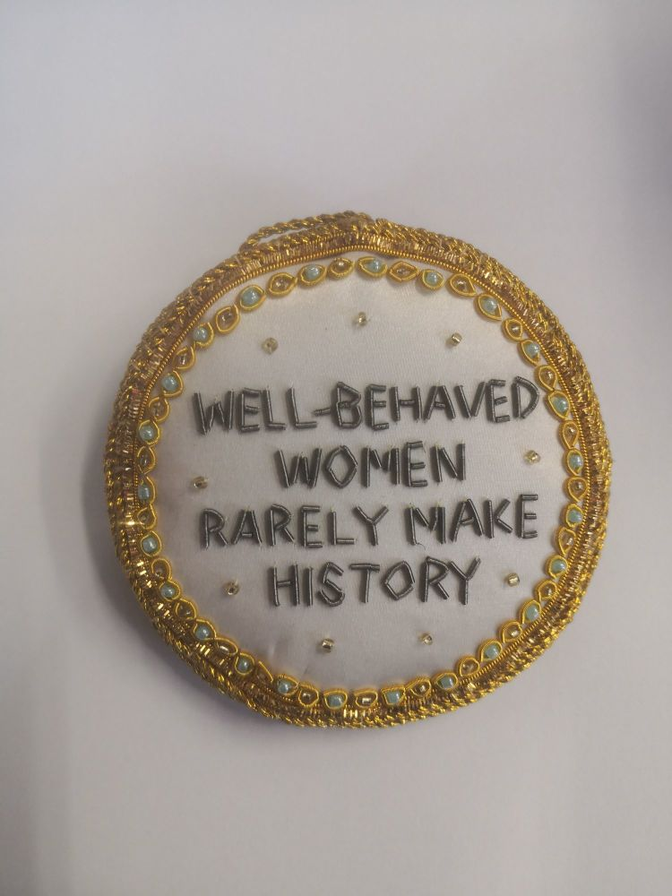 Well Behaved Women Rarely Make History Christmas Decoration