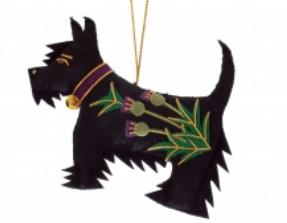 Black Thistle Scottie Dog