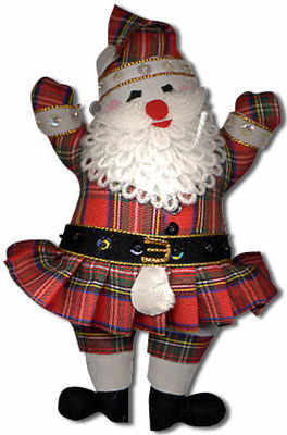 Kilted Father Christmas