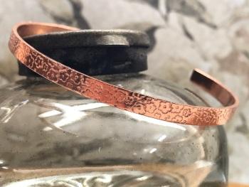 Copper Bangle 4mm