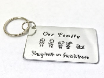 Our Family Key Ring