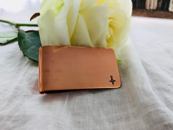 Copper Money Clip