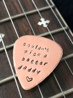 Father's Day Copper Guitar Pick