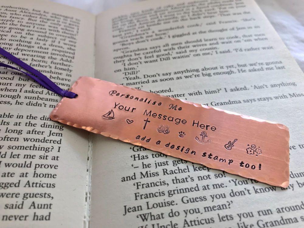 Copper Book Mark