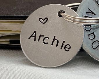 Extra Name Tag For This Mummy/Daddy etc Key Ring