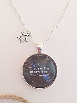 I Move The Stars For No One - Labyrinth Necklace