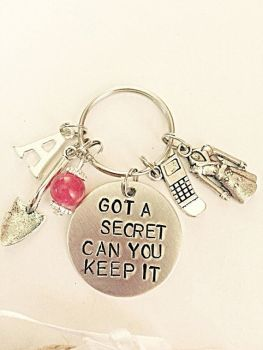 Got A Secret Can You Keep It Keyring
