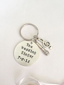 Wedding Singer Keyring