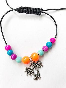 Palm Tree Adjustable Bracelet