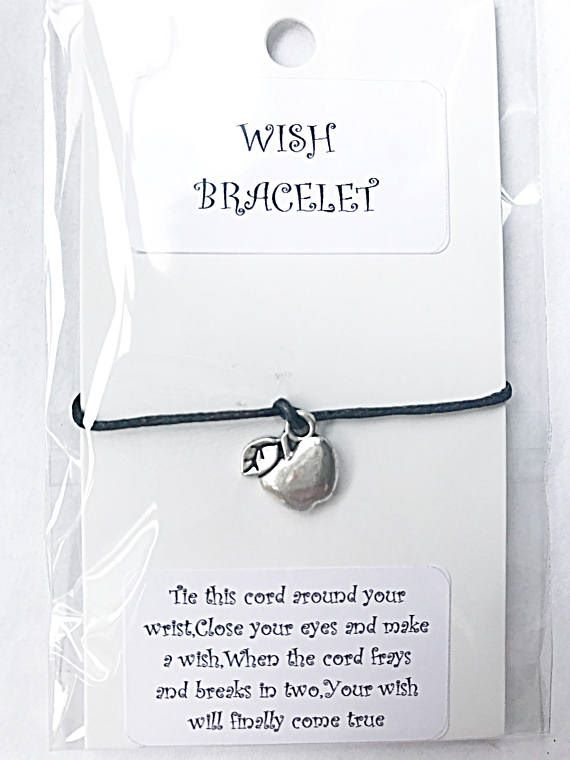 Teacher Wish Bracelet