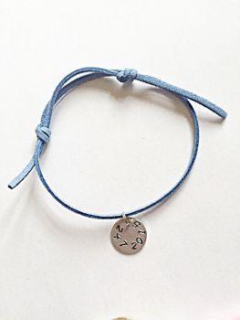 Personalised Date Bracelet