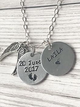Baby Memorial Necklace