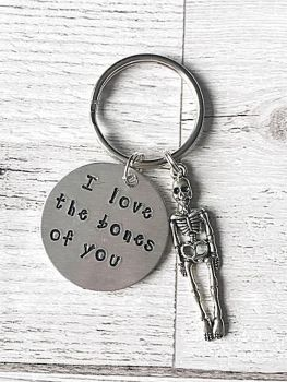 I Love The Bones Of You Keyring