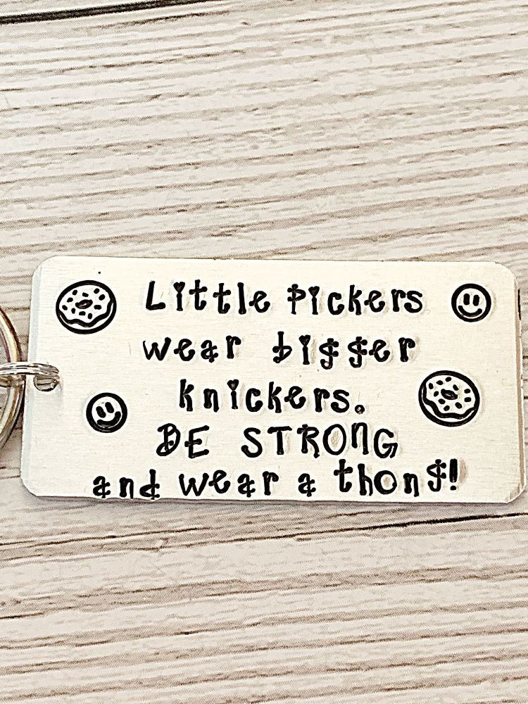 Funny Diet Quote Keyring