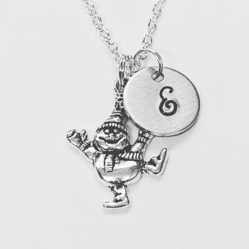 Personalised Snowman Necklace
