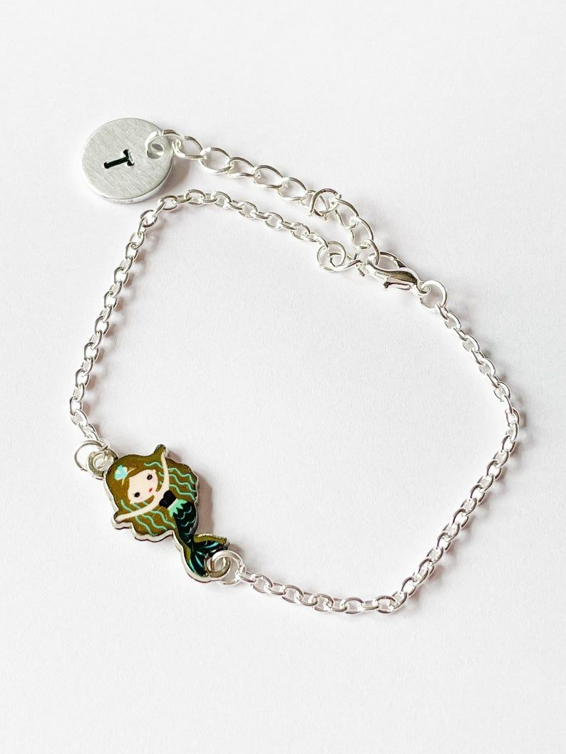 Personalised Mermaid Bracelet