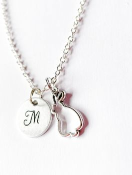 Personalised Rabbit Necklace