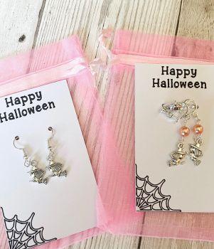 Witch Halloween Earrings