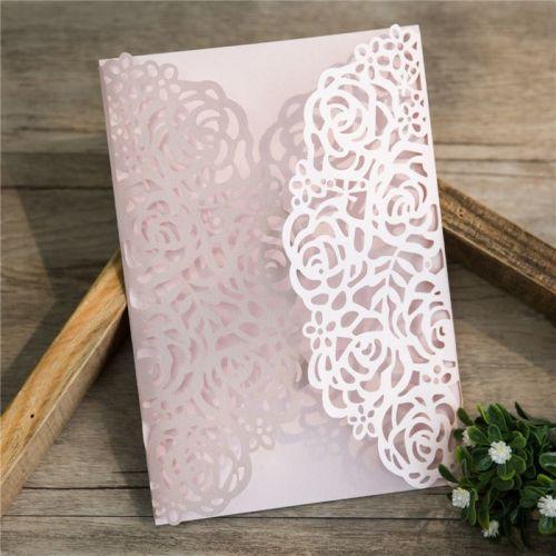 Rose design laercut
