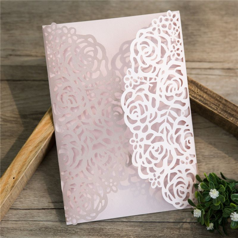 Rose design laercut