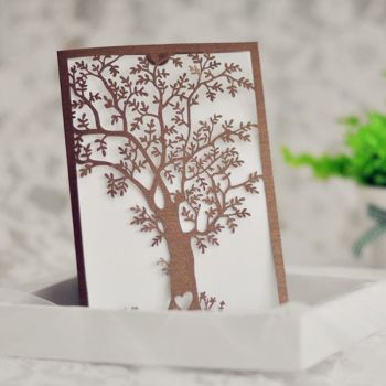 Elegant tree lasercut