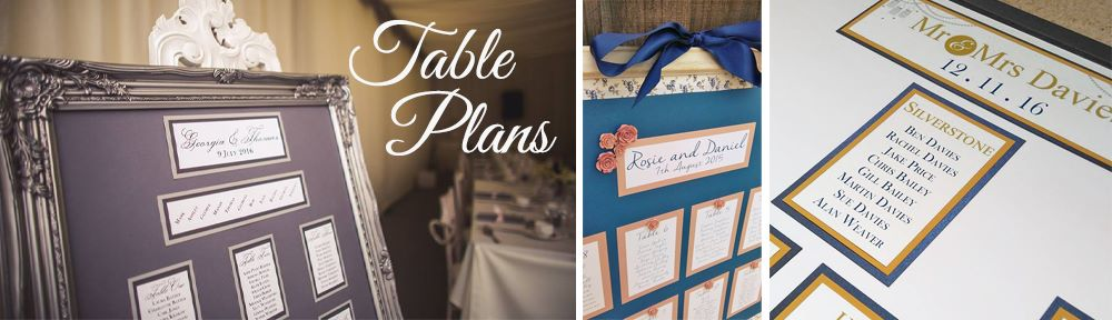 banner table plans