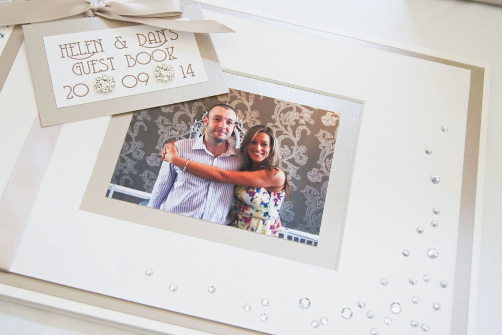 Personalised photo guest book