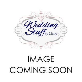 Elegant floral pocketfold lasercut