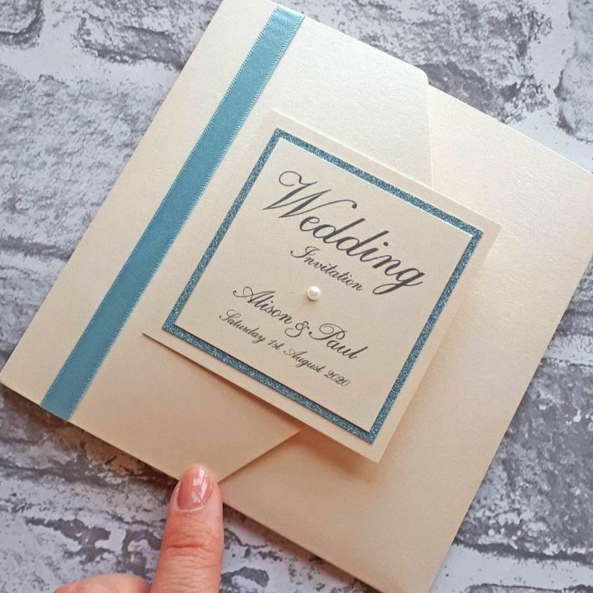 Pocketfold invitations