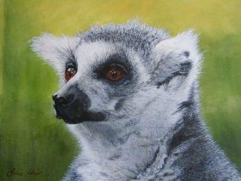'Lemur' Giclee print size 25cm x 33cm