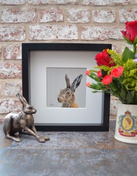 'Looking Right' Limited Edition Framed Giclee Print