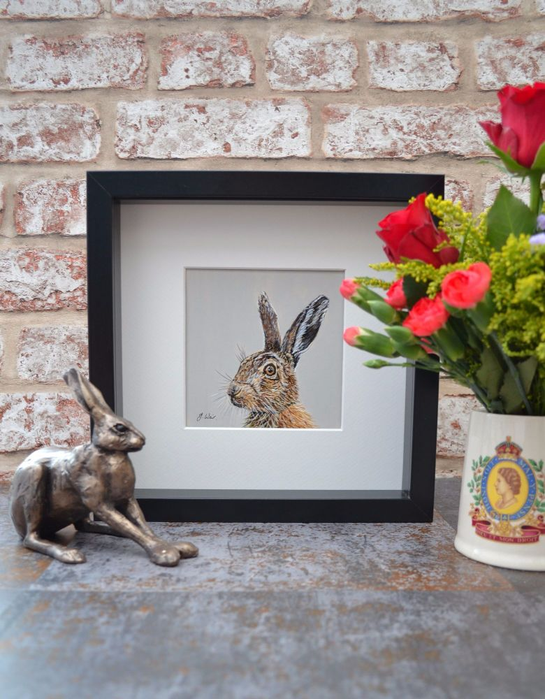 'Looking Right' Limited Edition Framed Print