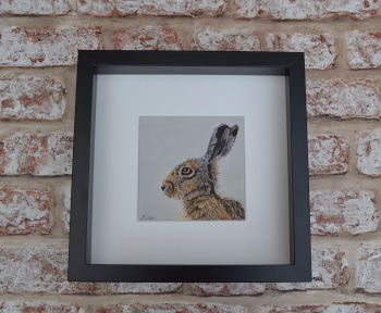 'Looking Left' Limited Edition Framed Giclee Print
