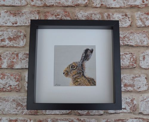 'Looking Left' Limited Edition Framed Print