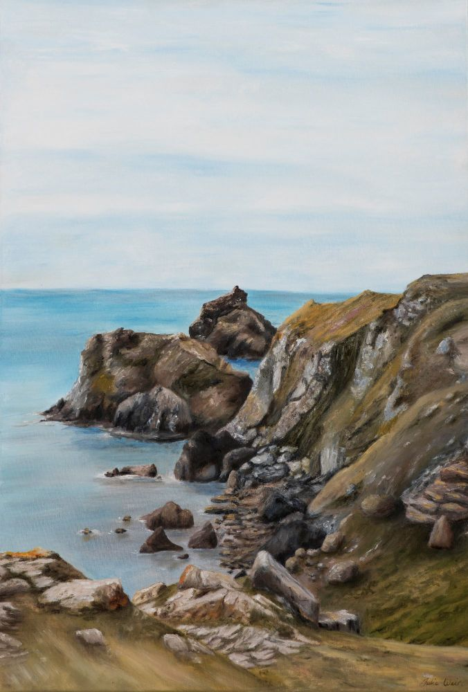 'Looking West' Kynance Cove, Cornwall