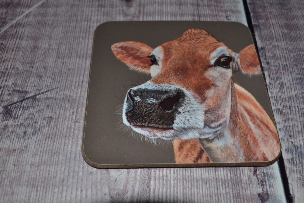 Jersey Cow Coaster