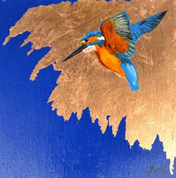 'Little Kingfisher'  Original Painting