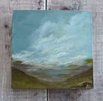 From the top. Original painting