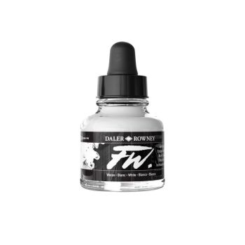 FW White Acrylic Ink