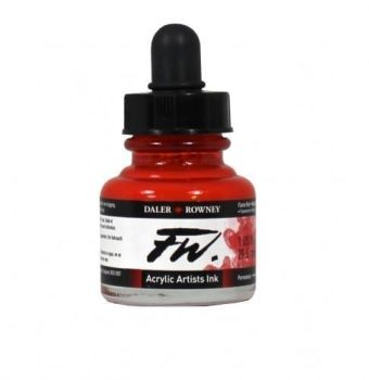 FW Flame Red Acrylic Ink