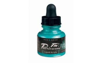 FW Pearlescent Waterfall Green Acrylic Ink