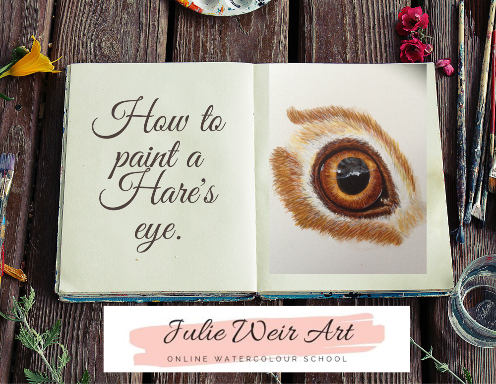 How to paint a Hares Eye