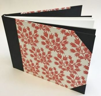 Handmade and bound Sketchbook. A5 size.