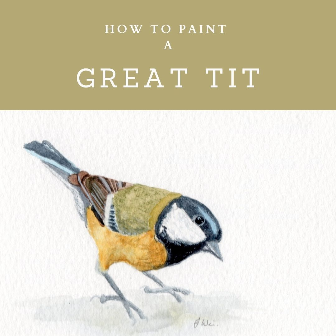 How to Paint a Great Tit.